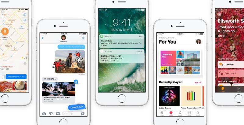 Les 10 nouveautés d'iOS 10