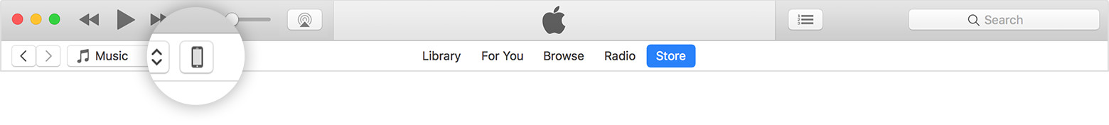 macos itunes12 7 device callout